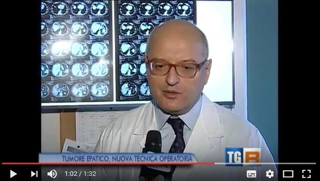 TGR - TG Lombardia - intervista Prof. Vincenzo Mazzaferro