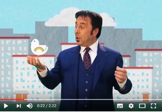 Il nuovo video di PROMETEO onlus con Mr. Forest