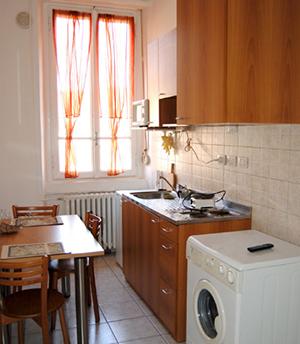 Malva Casa PROMETEO cucina attrezzata accoglienza malati milano