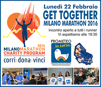 Get Together: PROMETEO in corsa incontra i Runner