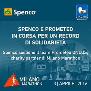 SPENCO e PROMETEO in corsa per un nuovo record di solidarietà 1