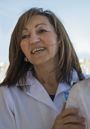 Antonella Meroni, volontaria PROMETEO