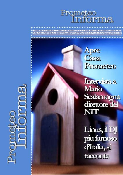 PROMETEOInforma N.07 - Maggio 2005