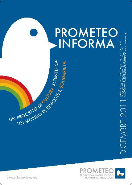 PROMETEOInforma N.20 - Dicembre 2011
