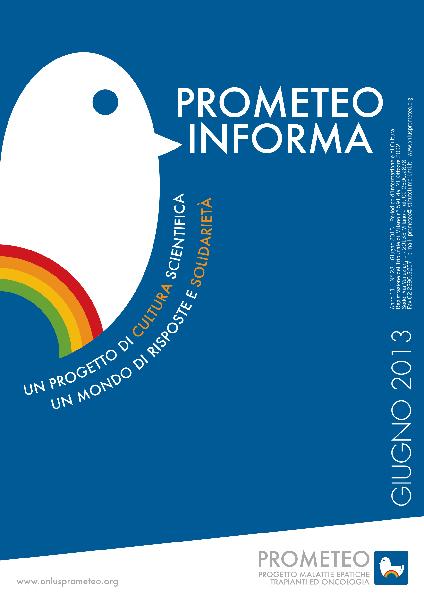 PROMETEOInforma N.23 - Giugno 2013