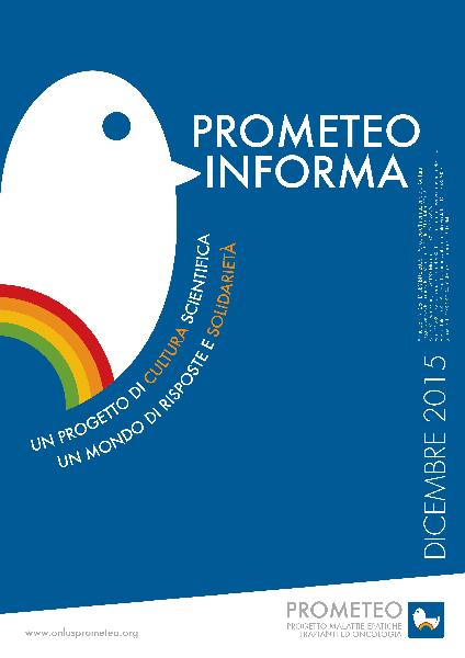 PROMETEOInforma N.28 - Dicembre 2015