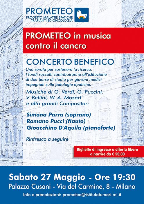 Un concerto benefico a Palazzo Cusani per due borse di studio