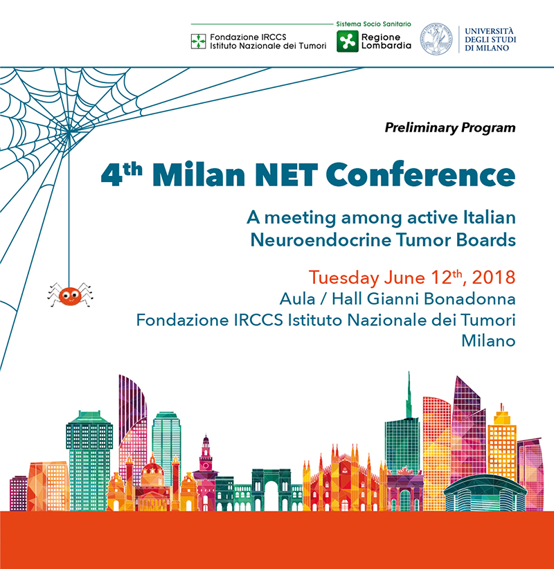 4th Milan NET Conference - Convegno tumori neuro endocrini