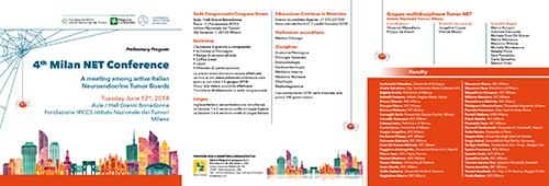 4th Milan NET Conference - Convegno tumori neuro endocrini- 12 giugno 2018