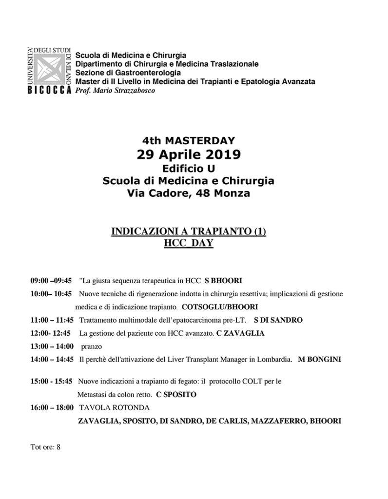 4th Masterday HCC Day - Monza, 29 aprile 2019 1
