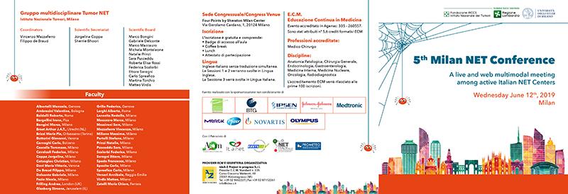 4th Milan NET Conference - Convegno tumori neuro endocrini- 12 giugno 2018 Copia