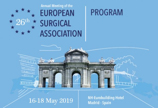 ESA 26th Annual Meeting - Madrid, 17-18 maggio 2019 1