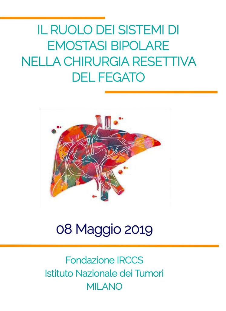Il ruolo dei sistemi di emostasi bipolare nella chirurgia resettiva del fegato - Milano, 8 maggio 2019