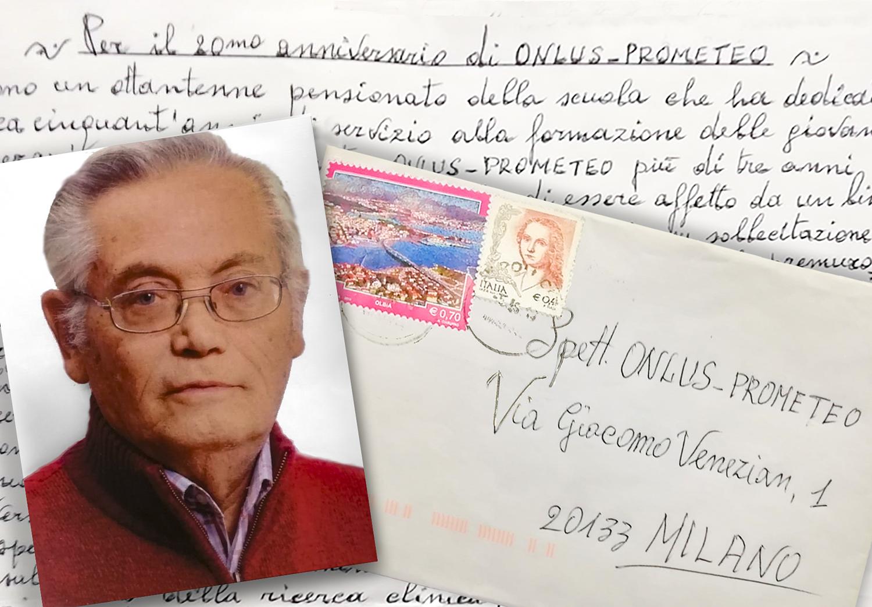 Testimonianza trapiantato Antonino Tedesco