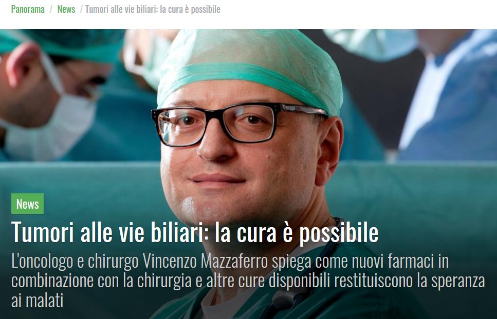 Prof. Vincenzo Mazzaferro_Istituto dei Tumori Milano