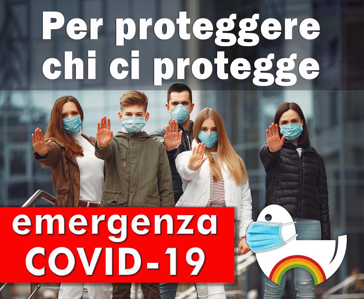 COVID-19: Per proteggere chi ci protegge, dona anche tu su Retedeldono.it