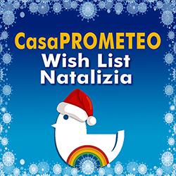 Un Natale solidale e... confortevole per gli ospiti di CasaPROMETEO, partecipa anche tu alla Wish List Natalizia 1
