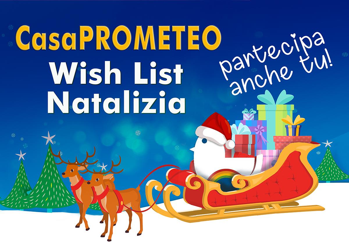 Un Natale solidale e... confortevole per gli ospiti di CasaPROMETEO, partecipa anche tu alla Wish List Natalizia