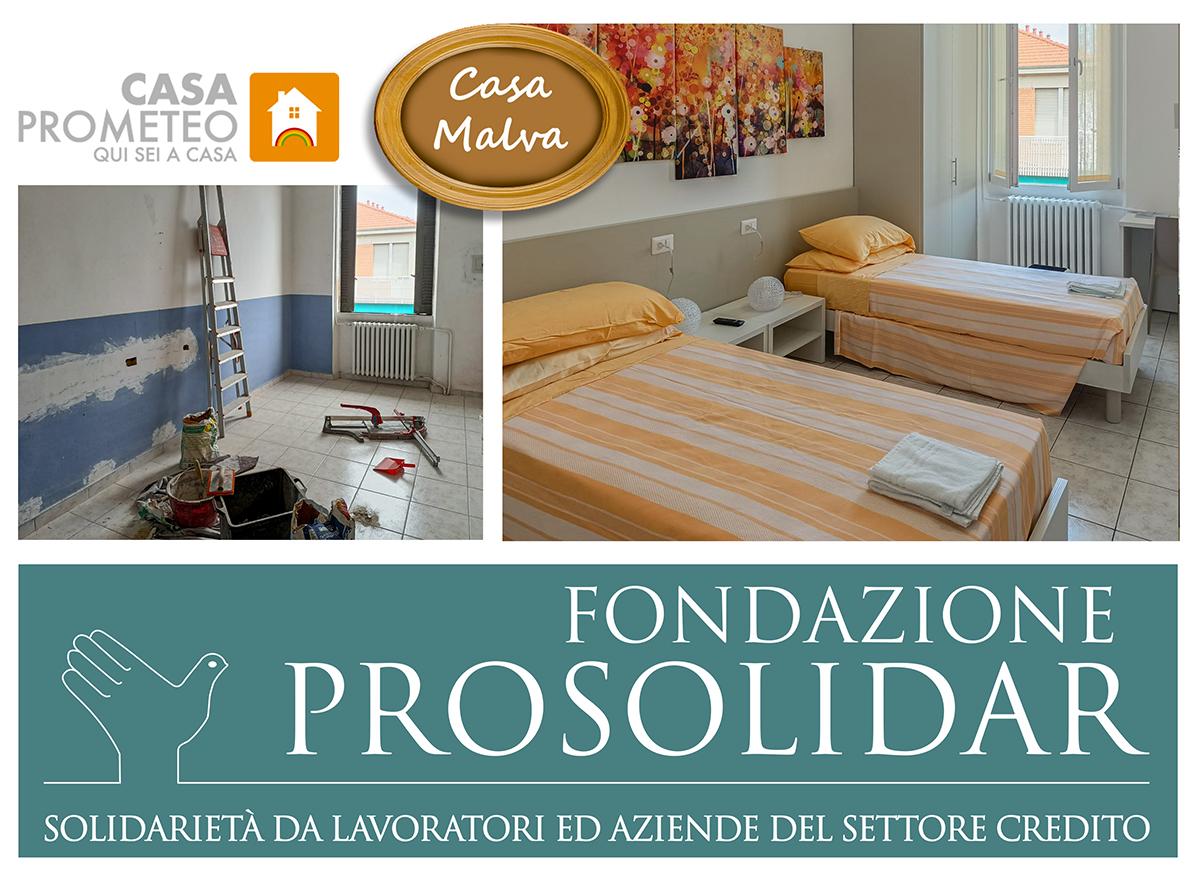 Casa Malva è tutta nuova, grazie a Fondazione Prosolidar